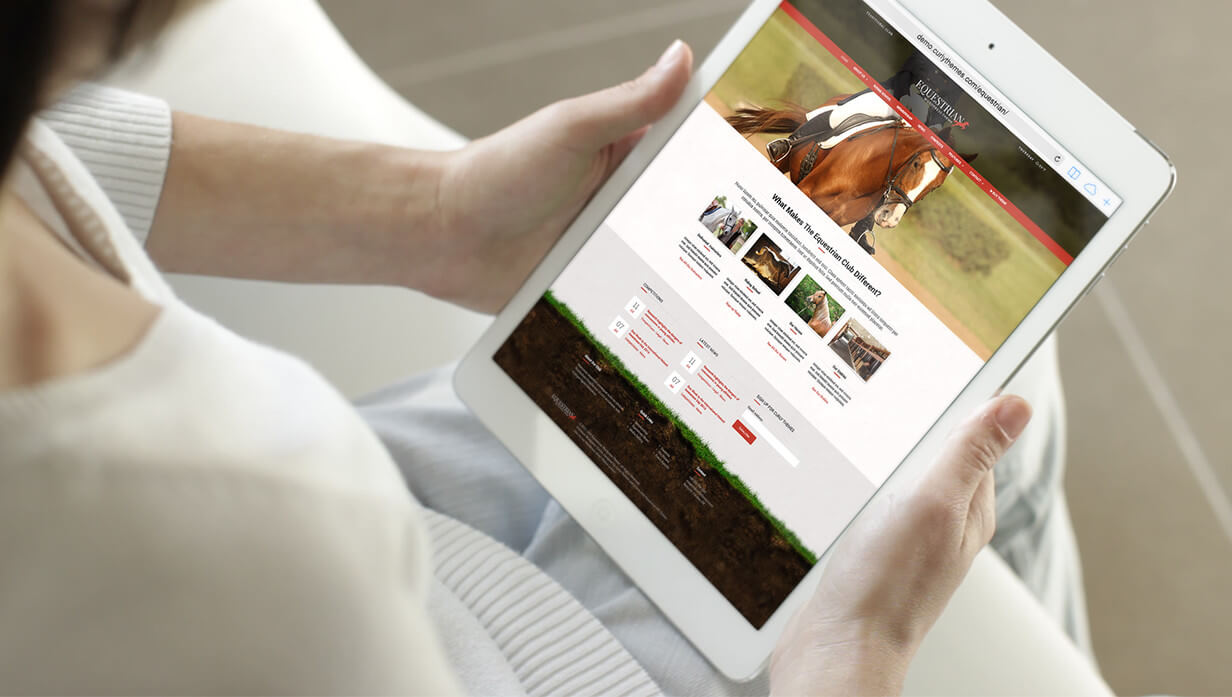 Equestrian - Horses and Stables WordPress Theme - 7