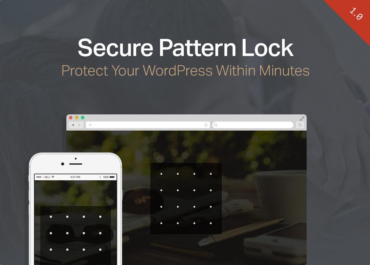Secure Pattern Lock - WordPress Security Login Plugin - 3