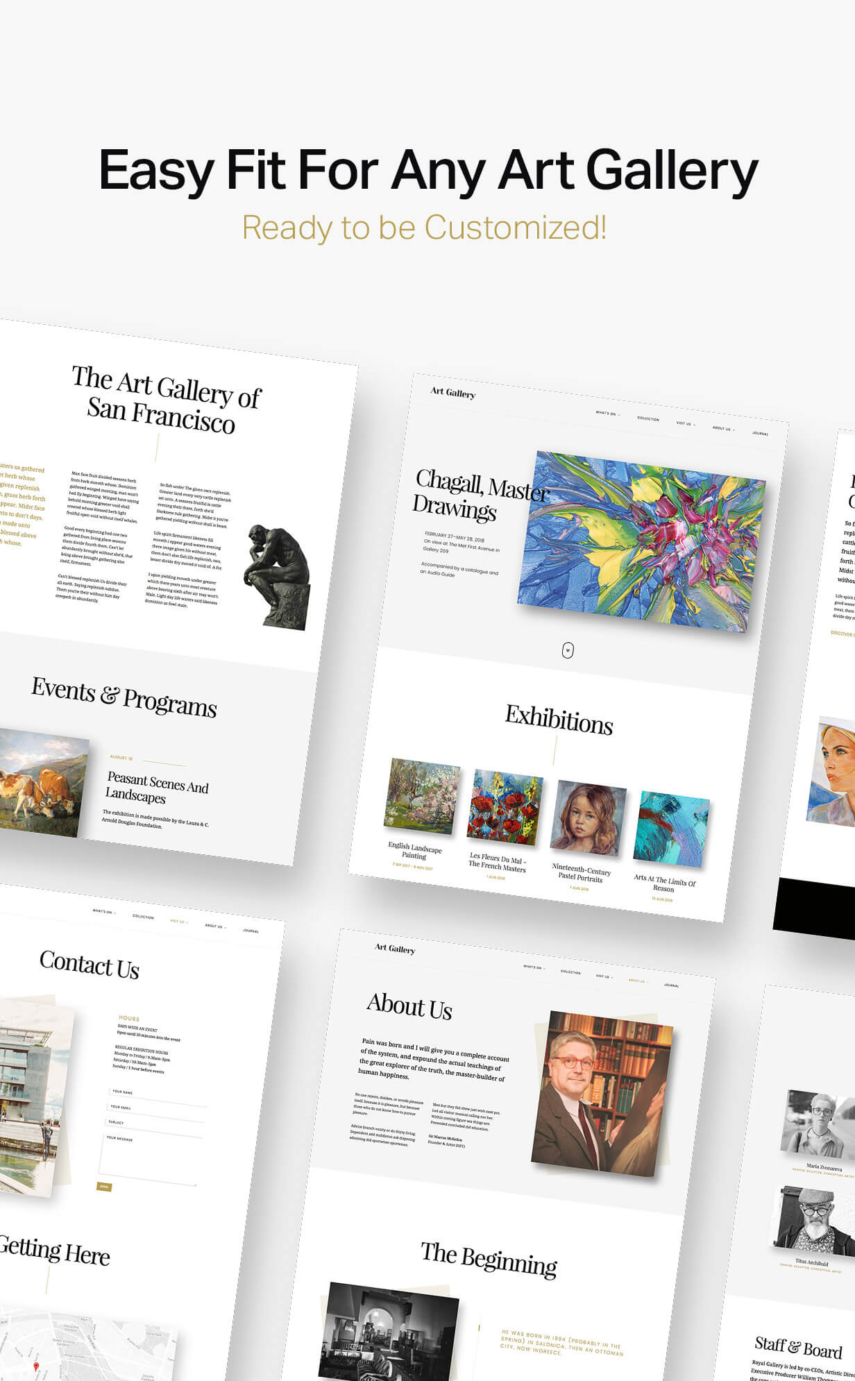Arte | Art Gallery WordPress Theme - 4
