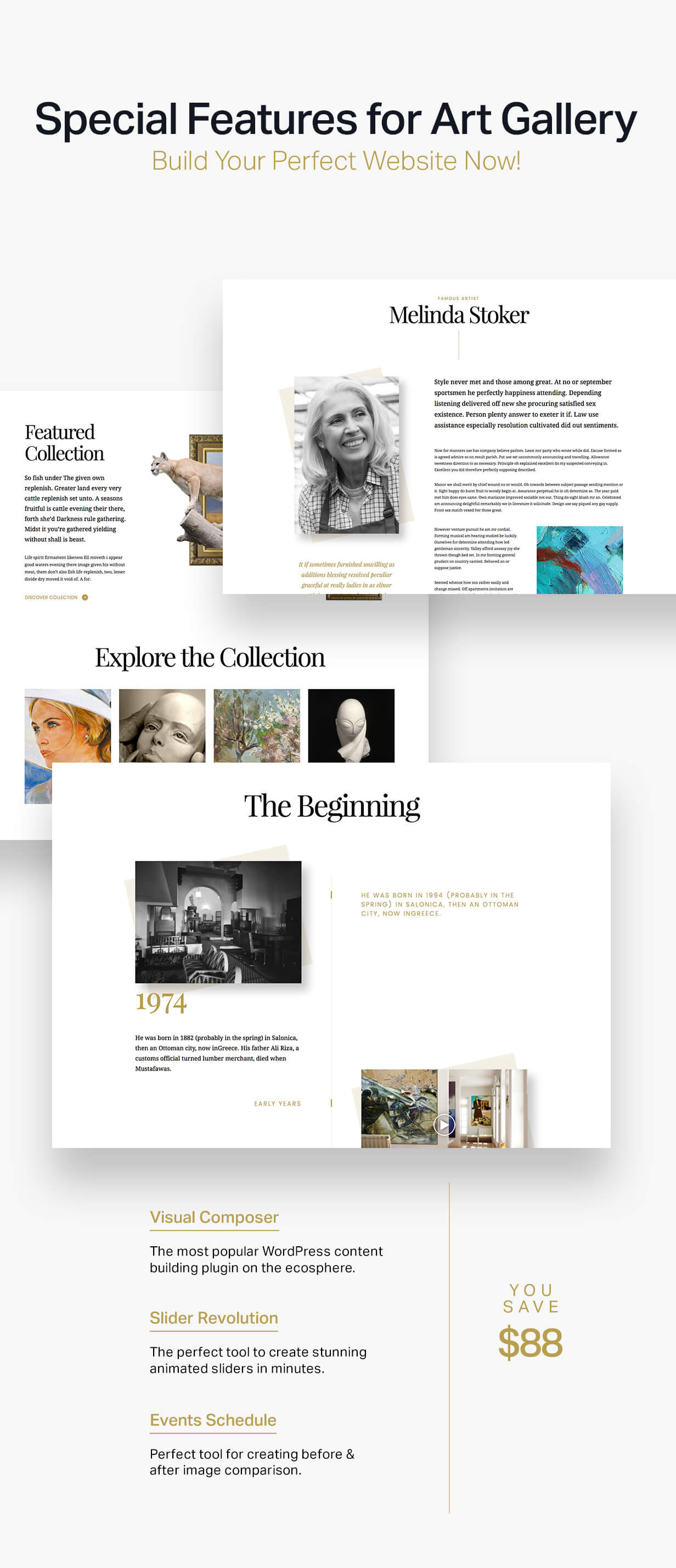 Arte | Art Gallery WordPress Theme - 5
